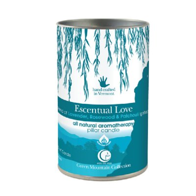 Escentual Love Pillar 14oz-Way Out Wax Candles-Live in the Light