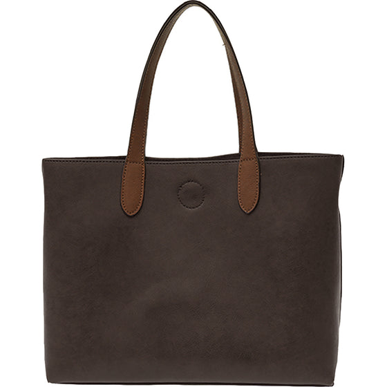 Mariah Medium Convertible Tote - Espresso