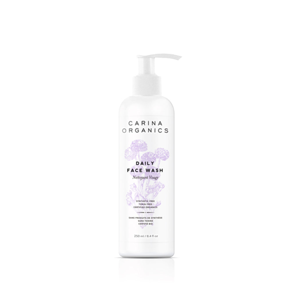 Daily Face Wash 250ml-Carina Organics-Live in the Light