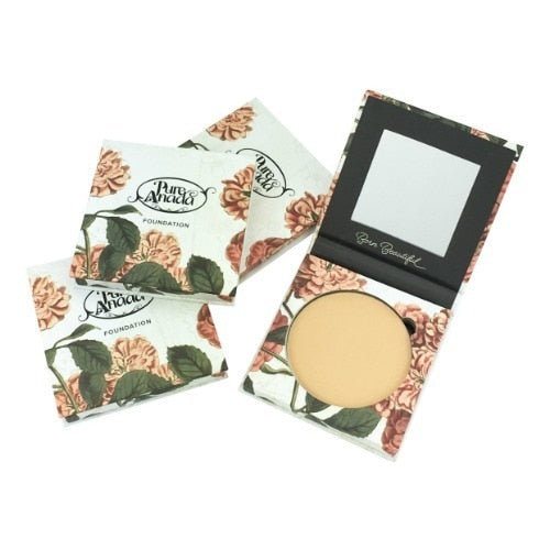 Pressed Sheer Matte Foundation Compact - Deep 16g