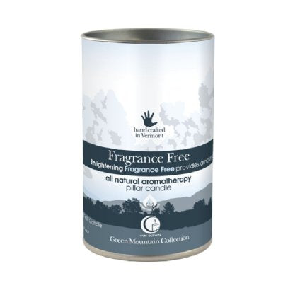 Fragrance Free Pillar 14oz-Way Out Wax Candles-Live in the Light