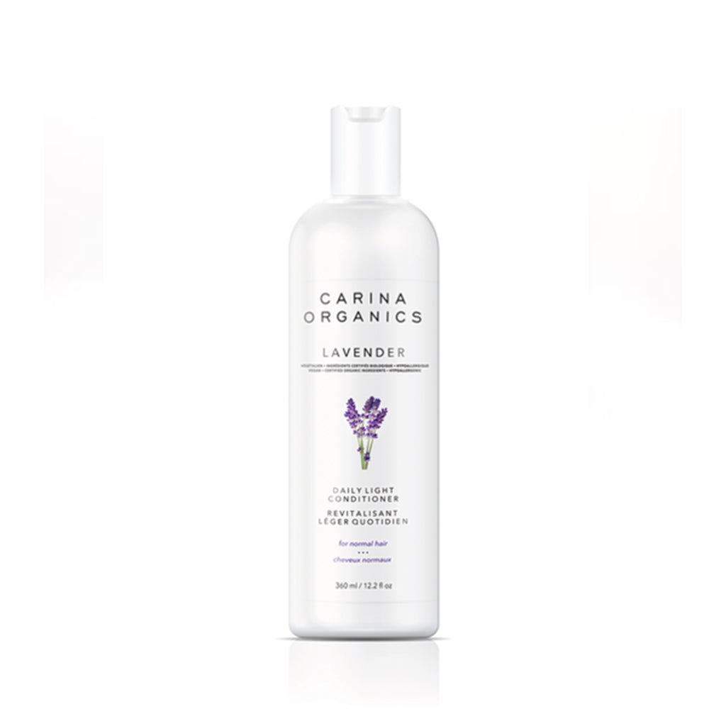 Lavender Daily Light Conditioner 360ml-Carina Organics-Live in the Light