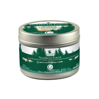 Northern Forest Large Tin 6.7oz-Way Out Wax Candles-Live in the Light