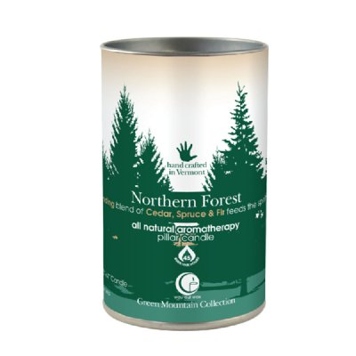 Northern Forest Pillar 14oz-Way Out Wax Candles-Live in the Light