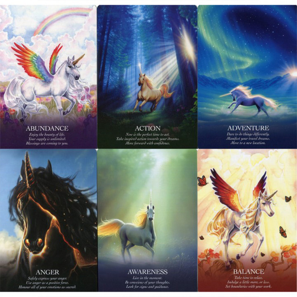Oracle of the Unicorns - Cards