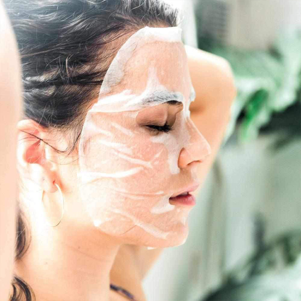 Greek Yogurt & Nourishing Organic Sheet Mask x 1-Orgaid-Live in the Light