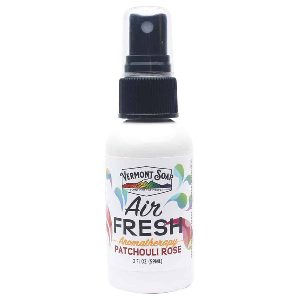 Air Fresh Aromatherapy Spray Mister - Patchouli Rose-VERMONT SOAP-Live in the Light