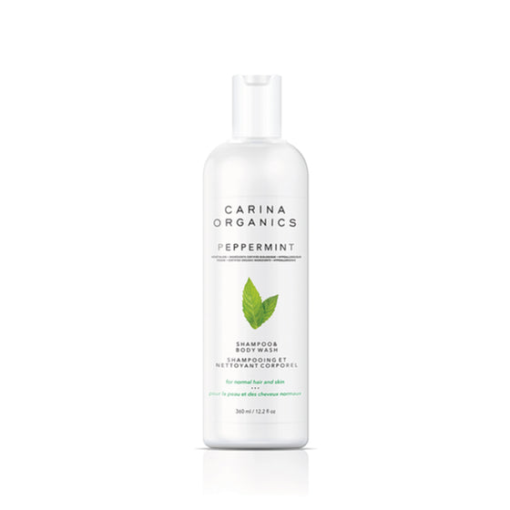 Peppermint Shampoo And Body Wash 360ml