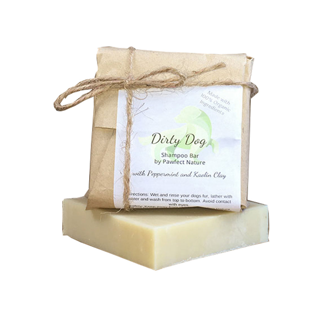 Dirty Dog Organic Dog Shampoo Bar – Clean & Protect 110g