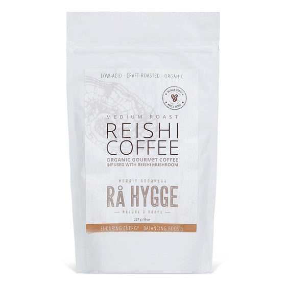 Organic Filter Ground Coffee with Reishi Mushroom 227g