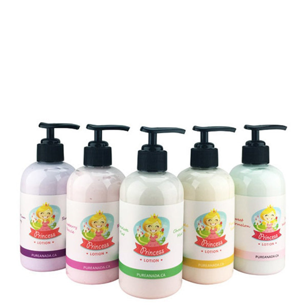 Princess Lotion - Raspberry Razzle 230ml-PureAnada-Live in the Light