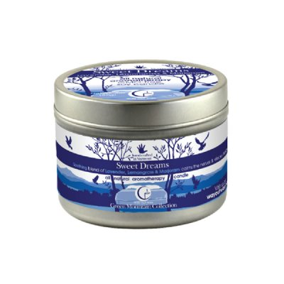 Sweet Dreams Medium Tin 3oz-Way Out Wax Candles-Live in the Light