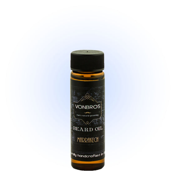 Marrakech - Beard Oil 15ml-VonBros-Live in the Light