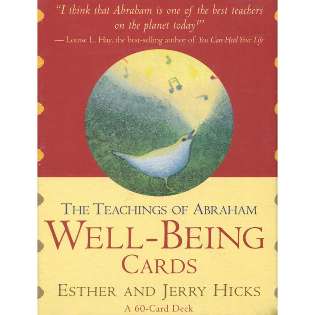 The Teachings of Abraham Well Being Cards-Holistic-Live in the Light