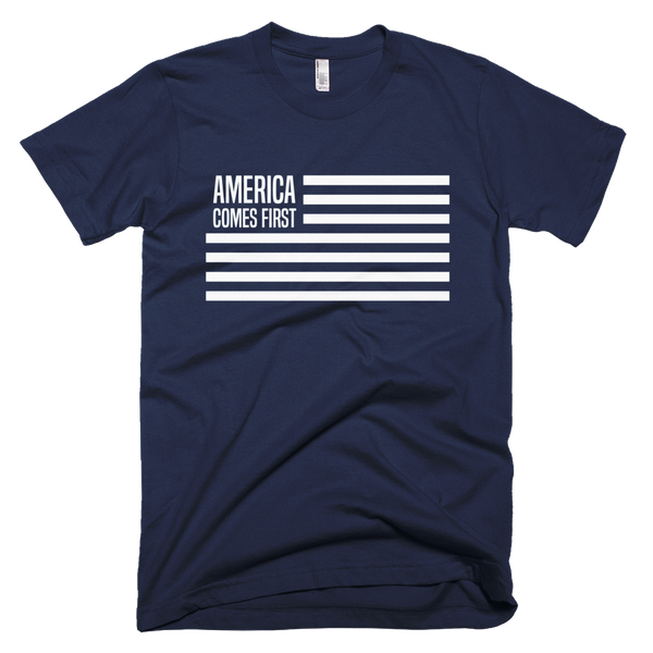 America comes first - t-shirt for men
