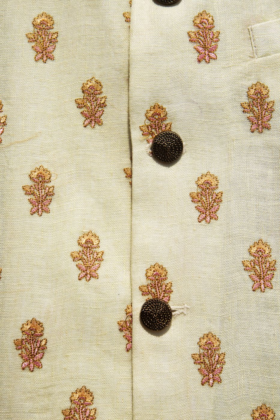 DAFFODIL LINEN THREADWORK BANDI
