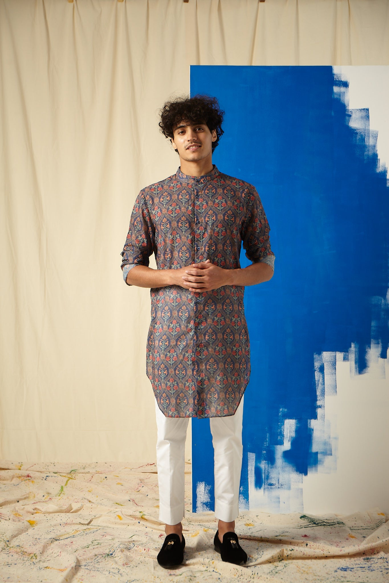 The Garden of Sin Cotton Kurta Pajama Set