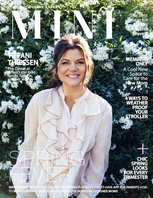 Bebe Organic featured in Mini Magazine spring 2017 issue