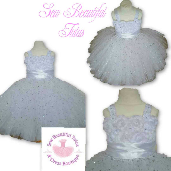 Flower Girl Dresses - Tulle