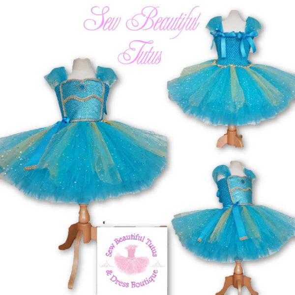 Arabian Princess Sparkle Tutu Dress