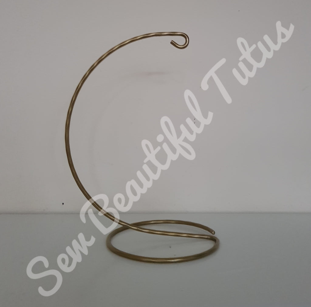 Bauble Stand - Gold Hoop Base