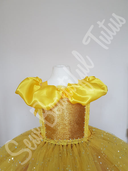 Belle inspired Sparkle Ballgown (4 layer)