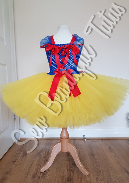 Snow White inspired Tutu Dress - Plain Tulle