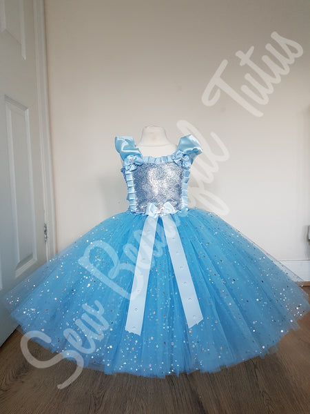 Cinderella inspired Sparkle Ballgown (on shoulder)
