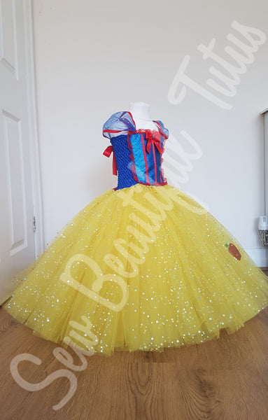 Snow White inspired Sparkle Ballgown