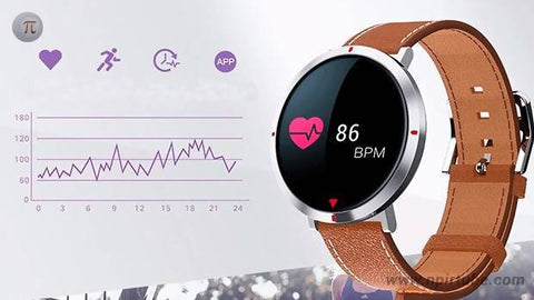 Alfawise Montre Connectée S2 marron