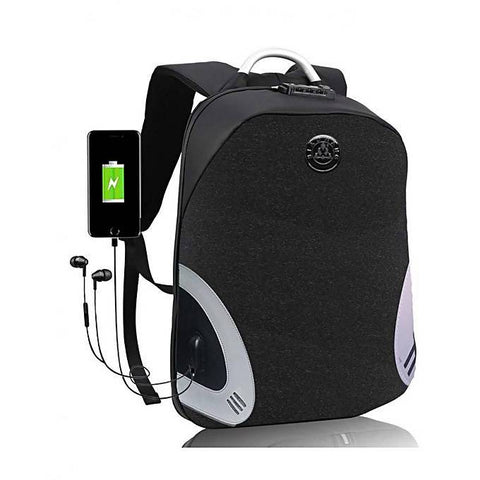 Sac à dos intelligent avec port USB & port Audio