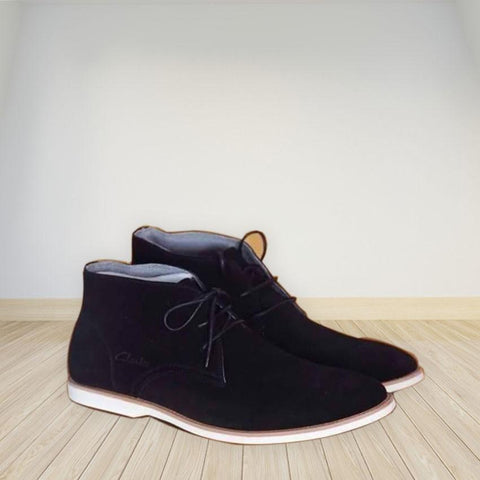 Chaussure Homme-Clark Montante