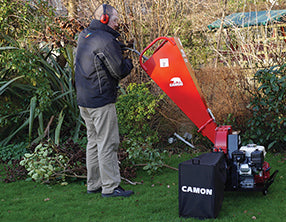 Reducing green waste using the CAMON C50i Garden Chipper
