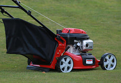 A rotary mower is the most popular type of mower and great for lawns