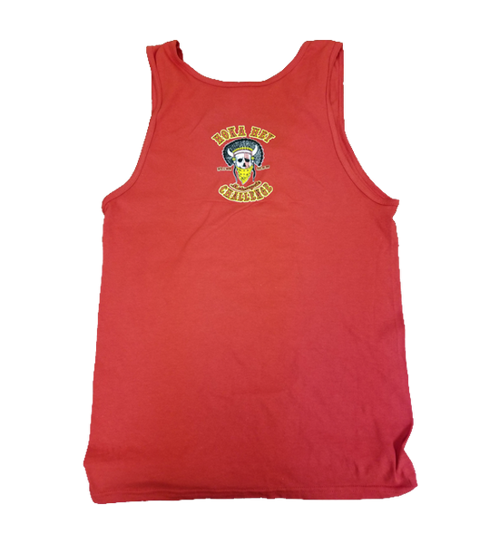 Red mens Tank top