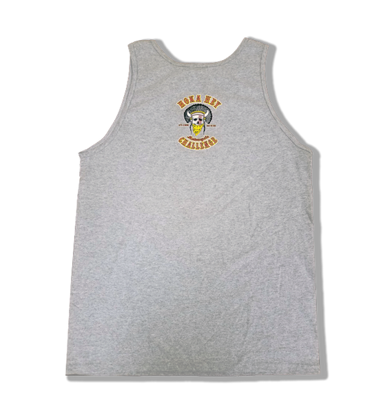 Grey mens Tank top