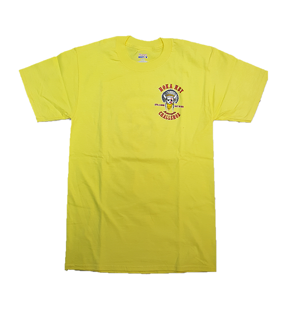 Yellow Standard Design T-shirt