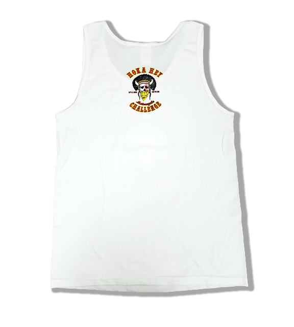 White mens Tank top