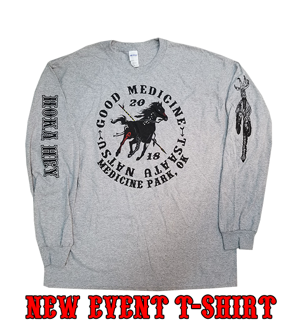 Grey Event Long Sleeve T-shirts