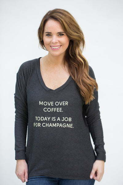 The 'Grayson' Sweatshirt - Move Over Coffee