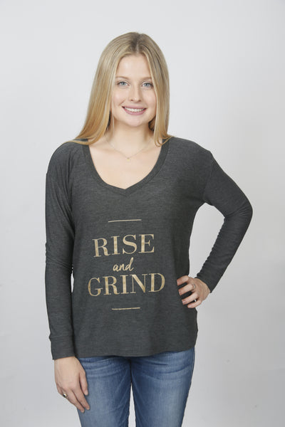 The 'Grayson' Sweatshirt - Rise and Grind
