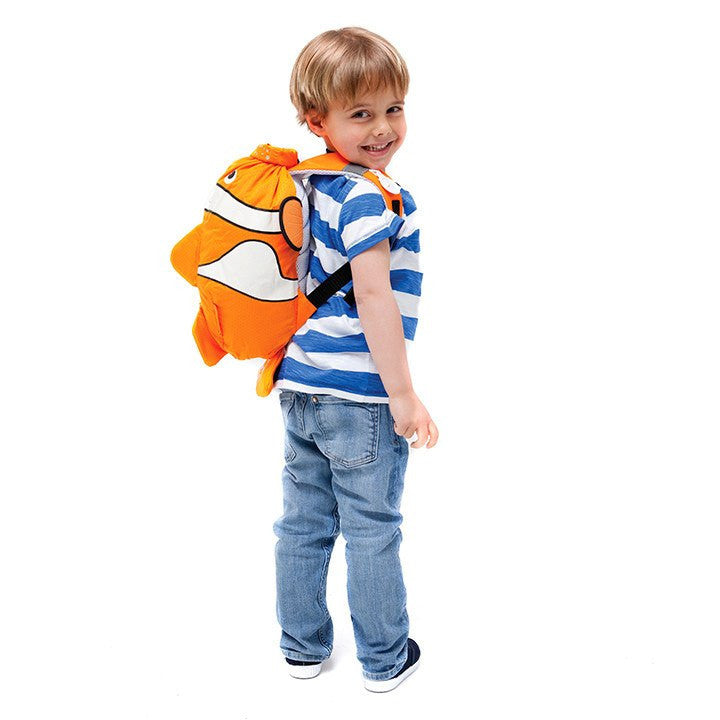 Chuckles Water Resistent Kids Backpack Trunki Paddlepak Orange