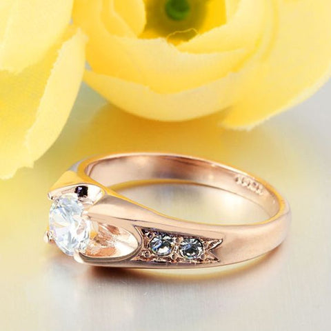 Wedding Ring Gold Plated Polish