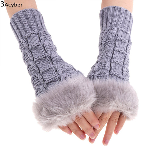 Knitted Gloves Ladies