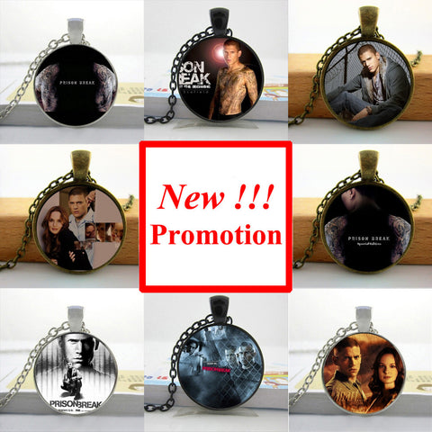 2017 New Fashion Prison Break Pendant Necklace