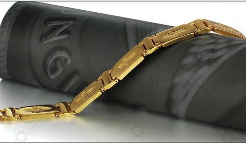 Bracelet 304L Stainless Steel With Gold Plated