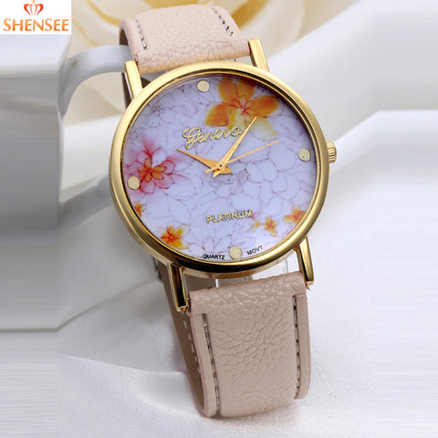 Rose Flower - Sports Quartz Watches