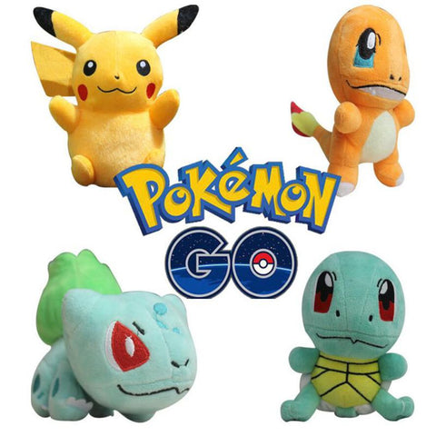4Pcs Pokemon Plush Toys