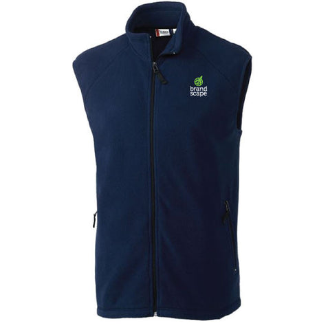 Men's Full-Zip Fleece Vest <!--B-->