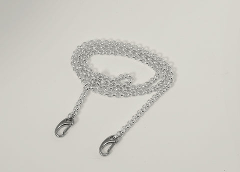 Infinite Silverplated Brass Short Chain